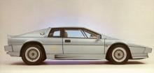 1980 lanserades den första Espriten med turbo. Den kallades Essex Esprit med sina 210 hk klarade den 0-96 km/h på 5,6 sekunder och toppade över 240 km/h. Detta är en lite senare modell.