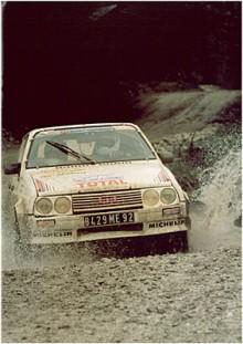 Citroën tävlade en hel del med Visa.