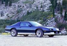Med 1982 års modell introducerades den tredje generationen Camaro. Här har vi en åttiofyra.