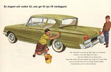 För att fylla marknadsluckan mellan Anglia och Consul presenterades 1961 Consul 315 med en 1340 cc motor i den kortslagiga Kentfamiljen. Bakrutan var vinklad som på Anglia och det och den i övrigt ganska extrema stylingen gick inte riktigt hem hos medelklassköparna. För att undvika förväxling döptes den äldre modellen om till Consul 375.
