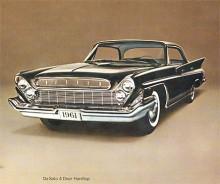 De Soto som skulle vara positionerad mellan Chrysler och Dodge närmades mer och mer Chrysler, en internkonkurrens som upphörde när De Soto abrupt lades ned i november 1960, 47 dagar efter introduktionen av 61:orna. Dessa kom bara i ett utförande utan modellnamn och har därför ingen namnsdag men får ändå vara med i dag.