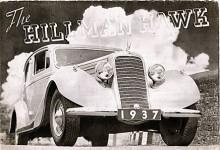 Om man alls minns Hillman, tänker man på ganska små bilar, men en gång i världen fanns till och med en 8-cylindrig Hillman. När bröderna Rootes, som var bilhandlare, i början av 1930-talet köpte Hillman för att starta egen tillverkning, började man i flera storleksklasser. Hillman Hawk (1935-1937) var en stor bil med en sidventilsexa på 3,2 liter och, faktiskt, separatfjädring fram. Tänkt att konkurrera med de bilar från Canada som såldes på den brittiska marknaden men den rollen togs senare över av Humber som också införlivats i Rooteskoncernen.