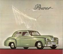 Den första bilsalongen i London efter kriget hölls 1948 och då visade nästan alla tillverkare helt nya modeller. Nya Humber Hawk hade eleganta linjer som liknats vid Chryslers 49:or men dessa visades flera månader senare. Stilen låg i tiden och Raymond Loewy hade assisterat Rootes i designarbetet.