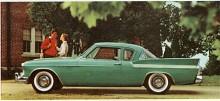 Studebakers sedaner omvandlades 1959 till den stubbiga Lark men Silver Hawk överlevde som den enda Studebaker med linjer något igenkännliga från Raymond Loewys sensationella grundform från 1953. Silver Hawk fanns kvar med små dekorförändringar i två årsmodeller till. För export fanns den också med sexa.