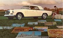 Gran Turismo Hawk 1962 -1964 var så omarbetad i 60-talets linjalstil att den uppfattades som en helt ny bil men den var baserad på grundkarossen från 1953. Att grillen påminde om Mercedes får man ha överseende med. Studebaker var vid en här tiden generalagent i USA för det tyska prestigemärket.