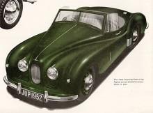 Roadsterkarossen var smaklig och formgiven med den amerikanska marknaden i sikte. Jowett levererade också 75 rullande chassier för påbyggnad av fristående karossmakare.