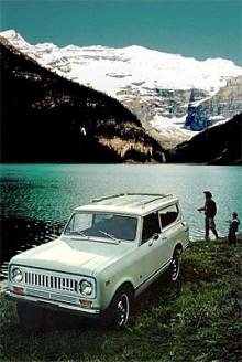 Scout II tillverkades mellan 1971 och 1980. Bilden visar en Scout II från 1973.