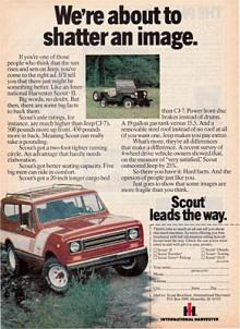 Konkurrensen var tydligt utmejslad för International Harvester, det var Jeep CJ som kunderna skulle välja bort.
