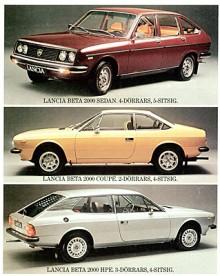 När Saab 1977 började sälja Lancia i Sverige fick märket ett uppsving. Beta-serien slutade man dock ganska snart med och satsade på Autobianchi A112 och med tiden Saab-Lancia 600.