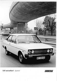 Från början hade 131 1,3- och 1,6-litersmotorer med enkel överliggande kamaxel.