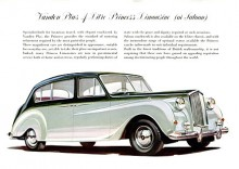Princess 4-litre fanns både med lång och väldigt lång hjulbas.