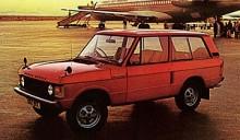 Personbilskomfort och riktigt bra terrängegenskaper gjorde Range Rover till en unik bil på marknaden 1970.