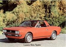 Beta Spider tillverkades av Zagato i drygt 8500 exemplar.