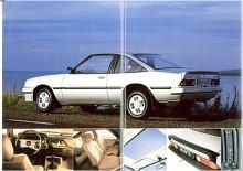 Här har manta kommit in i 1980-talet, 1983 såldes 2,0E och GT/E, båda med tvålitersmotor med L E Jetronic-.insprutning som gav 105 hk och båda i coupéutförande.