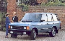 På 1980-talet hade Range Rover blivit lyxigare och gick att få med 4 dörrar.