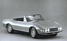 Fiat Dino Spider kom 1966 och var ritad av Pininfarina.
