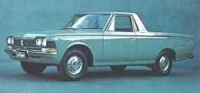 Crown fanns i en rad olika karossvarianter, stilig pickup…
