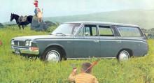 …och rymlig stationsvagn till exempel. En elegant hardtop coupé fanns också.