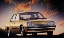 Chevrolet Cavalier byggde liksom Vauxhalls upplaga på J-plattformen och blev en succé i USA. Den började säljas som 1982 års modell och fanns bara med fyrcylindrig motor. 1983 kom en tvärställd V6-motor på 2,8 liter in i modellprogrammet.