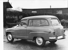 Kombin hade horisontellt delade bakluckor som på en amerikansk station wagon. ANA använde inte det franska namnet Châtelaine (=slottsfru) utan det blygsammare Herrgårdsvagn. Alltid franskbyggd och sällsynt i Sverige.