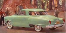 En -51:a med glasveranda. Karosstypen hette Starlight Coupe. Champion fanns i samma karossutföranden som Commander vilken hade större motor, från 1951 med V8.