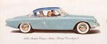 """Studebakers -53:or upphör inte att fascinera. Pedantiskt namnger Studebaker karosstypen som """"Hard Top"""" Convertible men borde inte citationstecknen ha omgett """"convertible"""" i stället?"""
