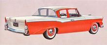 Efter att ha överlastat -55:orna med krom förnyar Studebaker 56:orna med kantiga linjer. Att det fortfarande bygger på Raymond Loewys mästerverk från 1953 är inte lätt att se, men det är heller inte meningen.