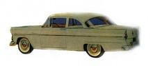 Till 1955 var det dags för karossbyte. Större och bredare fortsatte Customline på den inslagna vägen också 1956, men sedan lades modellen ner.