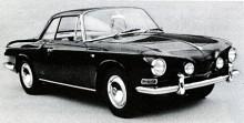 Typ 34, den modernare versionen baserad på VW typ 3. Lyxigare, aningen starkare och markant omdesignad. En ovanlig bil då, nu smått exotisk.