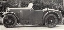 Den första M.G. Midget tillverkades 1929-1931 och kallas M-type. Motorn hade liksom organdonatorn Morris Minor överliggande kamaxel men effekten var med 27 hk något högre. Karossen som var klädd med duk hade ett spetsigt bakparti - boat-tail- som var högsta mode i slutet av 1920-talet.