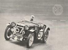 Utvecklingen var snabb och sedan J-type passerats var det dags för P-type. Detta är en PB i racing trim som deltar i Le Mans 1935.