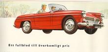 """Den första M.G. """"Spridget"""" (1961-1964) var inget annat än en Austin-Healey Sprite Mk II fast med M.G.-grill och kromlister efter sidan. Båda bilarna byggdes sida vid sida av M.G. i Abingdon men för Midget tog BMC ut ett 6 % högre pris."""