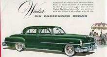 Kändes en Limousine för vräkig kunde man ju alltid satsa på en  6-passenger Sedan i stället.