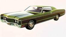 Mycket av Lincoln i ansiktsdragen. Mercury Monterey 1971 ville vara så mycket mer. Efter sjätte generationen lades Monterey ner 1974.