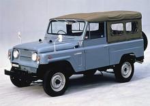 Patrol av första generationen var enkla men funktionella terrängbilar. Här har vi en -58:a.