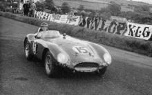 Ferrari 750 Monza fick sitt namn efter att Mike Hawthorn och Umberto Magioli 1954 vunnit på Monza-banan i den allra första tävling man ställde upp i med den nya bilen. 750 Monza var en modell i den serie fyrcylindriga sportvagnar som Ferrari utvecklade på 1950-talet. Den första bilen hette 625 TF och hade en 2,5-litersversion av motorn, konstruerad av Aurelio Lampredi, 750 Monza hade 3-litersversion av samma motor.