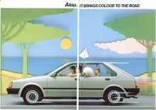 Om det var något som Arna inte gjorde så var det att sätta färg på vägen. Möjligen med oljefläckar.