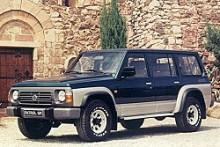 Stora hjul, bred kaross och korta överhäng, Patrol är en riktig tuffing och kanske är detta den häftigaste karossen. Stationsvagnsvarianten av generation fem, Y60 som fanns mellan 1987 och 1998.