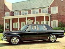 1966 var det slut med Studebaker. De sista årsmodellerna hade denna kantiga design. En kompaktmodell som inte fann tillräckligt med köpare.
