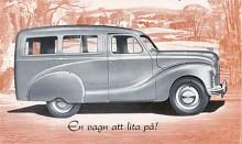 Den första Austin Countryman kom 1948 och var en primitiv historia - helt enkelt en glasad skåpbil. Modellbeteckningen var A40.
