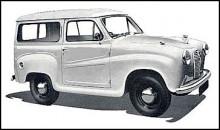 Austin A30 och A35 fanns också som Countryman. Karossen var helt i stål men hade pressningar i woodiestil.