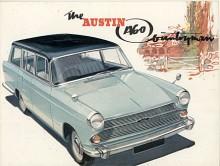 Austin A55 och A60 i BMC:s Farinafamilj fanns också som kombi, på bilden A60 Countryman som producerades 1961-1969.