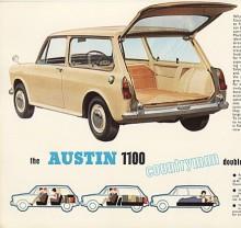 Austin 1100 Countryman ingick i byggserien ADO16 som liksom hundkojan var konstruerad av Sir Alec Issigonis men med lyckad formgivning av Farina. I kombiversion höll modellen ut längst och ersattes av Allegro kombi 1974