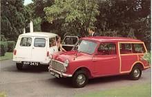 Hundkojan fanns från 1960 som kombi med förlängd hjulbas och om den stod Austin på huven hette kombin förstås Countryman. Mot pristillägg kunde man få utvändig trädekor.