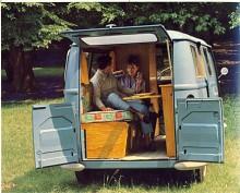 Motsvarigheten till VW:s lyxbuss hette Aloette och kunde köpas med campingutrustning. Husbilar byggdes på 1960-talet alltså inte enbart i Ramsele.