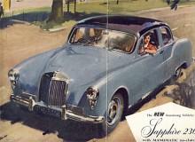 En mindre modell som skulle konkurrera med Jaguar 2.4 litre presenterades 1955. Den kunde fås med fyra- eller sexcylindrig motor men de var med 2,3 liters volym lika stora. Modellbeteckningarna blev följaktligen Sapphire 234 respektive 236. Den fyrcylindriga versionen hade högre effekt och ansågs som sportmodellem Framgången på marknaden uteblev och efter bara sammanlagt 1506 exemplar upphörde tillverkningen 1958.
