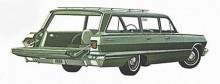 1963 var linjerna än mer uppstyrda åt det linjära hållet. Chevrolet var världens mest tillverkade bil.