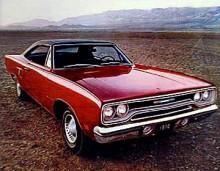 Plymouth Belvedere Satellite Coupe från 1970 får sätta stopp för den här gången. Efter 1970 tillverkades inga bilar med Belvedere som namn längre.
