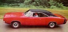 Snart förvandlades Charger till en muskelbil. Redan 1968 var det dags för en uppgradering och motoralternativen var många, stora och starka. Charger tävlades såväl på ovalbana som dragstrip med stor framgång. Hemimotorn var kung!
