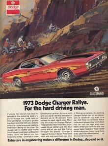 I annonserna pushade Dodge för Chargerns rallyegenskaper.